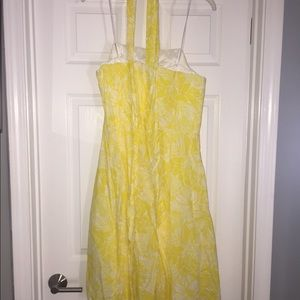 Yellow Strapless Lilly Dress